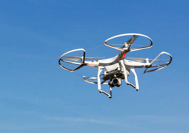 Kameradrohne für Luftaufnahmen