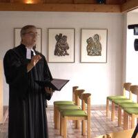 Abschlussgottesdienst als Video im Klassenzimmer